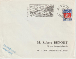 Réunion CFA 1966 Flamme St Joseph - Cartas