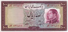 IRAN 1954 100 Rial - P.67 Neuf UNC - Iran