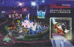 MWD-BK6-474 MINT PF/MNH ¤ HONG KONG  2005 BLOCK  ¤ THE WORLD OF WALT DISNEY -- FRIENDS OF WALT DISNEY - Disney