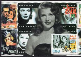 France - Carte Postale - Centro Italiano Di Filatelia Tematica - Cinema - 1998 - Non Circulé - A1RR2 - Manifesti Su Carta