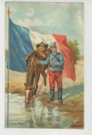 MILITARIA - REGIMENTS - Hussard , Par A. PALM DE ROSA - Carte PUB Pour CHOCOLAT DROULERS à FRESNES SUR ESCAUT - Regimientos