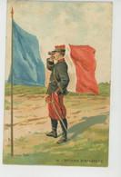 MILITARIA - REGIMENTS - Officier D'Infanterie Par PALM DE ROSA - Carte PUB Pour CHOCOLAT DROULERS à FRESNES SUR ESCAUT - Regimientos