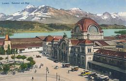 XCH.a.2.  LUZERN - Bahnhof Mit Rigi - LU Lucerne