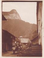 HAUTE SAVOIE MONT SAXONNEX PRES DE CLUSES FERMIER 1929 - Luoghi