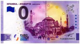 Billet Touristique - Turquie - 0 Euro - Istanbul - Ayasofya - (2020-2) - Autres