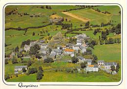 43 - QUEYRIERES : Vue Générale Aérienne - CPM Grand Format Village (307 Habitants) - Haute Loire - Sonstige Gemeinden