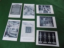 VINTAGE USA: RI Newport Touro Synagogue X7 B&w Friends Of Touro - Newport