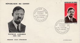 CONGO FDC 1965 PATRICE LUMUMBA - Unclassified