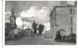 .CPSM  MONTLIEU 17 : Gendarmerie - Av De La République - Sonstige Gemeinden