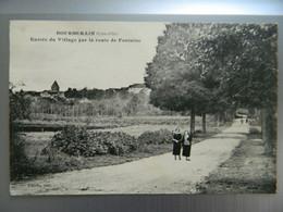 BOURBERAIN                   ENTREE DU VILLAGE PAR LA ROUTE DE FONTAINE - Other Municipalities
