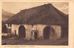 Le Trouchy (Près Fouday) - Ferme à Toit De Chaume - Ed. Braun & Cie - Autres Communes