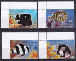 Grenada Carriacou 2003 Fauna Fishes 4v MNH - Fische