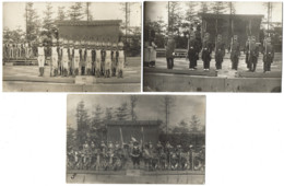 Représentations Militaires - Lot De 3 CPA - Non Situées - Années 1910-1920 - Personaggi