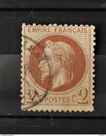 11 - 20  - France N°26 //  Cote : 35 Euros - 1863-1870 Napoléon III. Laure