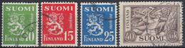 FINLANDIA 1951 Nº 382/83 USADO - Gebraucht