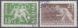 FINLANDIA 1952 Nº 388/89 USADO - Gebraucht