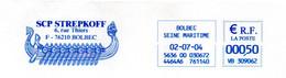 EMA Bleue Seine Maritime Bolbec Navire Bateau à Rames Viking - Freistempel
