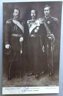 CPA Guerre 14 - RARE - Nos Frères D'Armes - Nicolas II, Georges V, Albert De Belgique - Réf. P 42 - Weltkrieg 1914-18