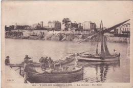 F3995 TOULON MOURILLON - LA MÎTRE - BARQUES ET BATEAUX A L'EAU - DOS VERT - Toulon