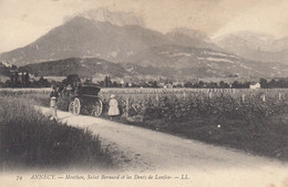 ANNECY: Menthon, Saint Bernard Et Les Dents De Lanfon - Annecy