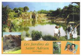 Servian Rare CPM Les Jardins De Saint Adrien Servian - Non Classés