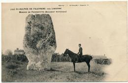 SAINT SULPICE DE FALEYRENS - Menhir De Pierrefitte - Altri Comuni