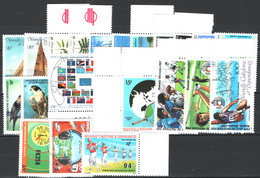 Nuova Caledonia 1987 Annata Completa / Complete Year Set **/MNH VF - Años Completos