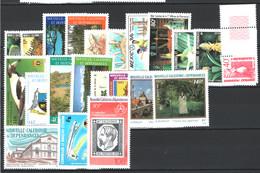Nuova Caledonia 1986 Annata Ompleta / Complete Year Set **/MNH VF - Años Completos