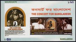 (575) Bangla Desh  2015 / Music / Concert Sheet / Bf / Bloc / George Harrison / Beatles  ** / Mnh  Michel BL 58 A - Bangladesh