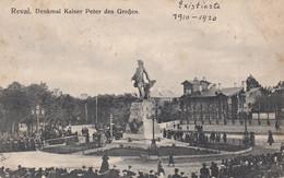 Reval.Tallinn.Peter I Monument. - Estonia
