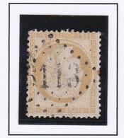 GC 6113 PAILHES ( Dept 8 ) S / N° 55 Indice Baudot S / L : 19 Soit 420€ - 1849-1876: Periodo Classico