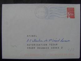 56- PAP Réponse Luquet RF Afibel 0402359 Obl Verso Vierge - Prêts-à-poster:Answer/Luquet