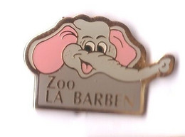 AN11 Pin's éléphant Zoo La Barben Bouches-du-Rhône Cirque Achat Immédiat - Tiere