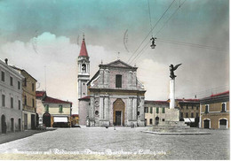 Savignano Sul Rubicone - Piazza Borghesi E Collegiata - H6379 - Other Cities