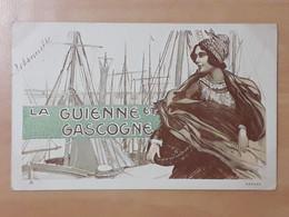 1 Carte Postale LA GUIENNE ET GASCOGNE Belle Carte - Non Classificati