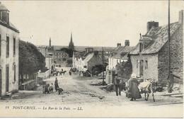 CPA 29 PONT CROIX Rue De La Paix - Pont-Croix