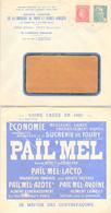 FRANCE  - LETTRE PUBLICITAIRE SUCRERIE DE TOURY ET USINES ANNEXES - 13.2.1946  /3 - Covers & Documents