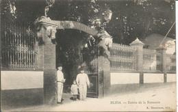 """2+1cp  Blida Algerie L'entrée De La Remonte+la Caserne Des Tirailleurs En 1917 Soldat Marcel"""" Le Veinard""""+ Alger L'amir - Blida"""
