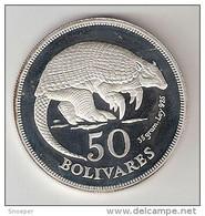 *Venezuela 50 Bolivar  1975  Km  47  Proof Catalog Val 55$ - Venezuela