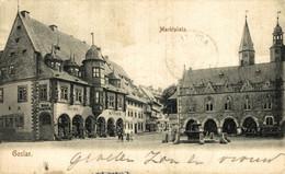 MARKTPLAZT, GOSLAR. ALEMANIA GERMANY DEUTSCHLAND - Zonder Classificatie