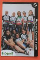 CYCLISME : Equipe Cycliste Féminine  Figurella Dream Team  (Italie) 2000 - Ciclismo