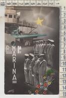 REGGIMENTI MILITARI REGIA MARINA   NAVE DA GUERRA  NO VG - Regiments