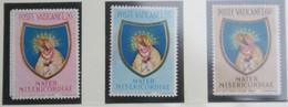 Anno Mariano Marian Year Mother Of Mercy 1954 Mi 227-229 Yv 207-209 POSTFRIS / MNH / ** VATICANO VATICAN VATICAAN - Unused Stamps