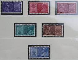 Marianisches Jahr Pope Pius IX 1954 Mi 214-219 Yv 194-199 POSTFRIS / MNH / ** VATICANO VATICAN VATICAAN - Unused Stamps
