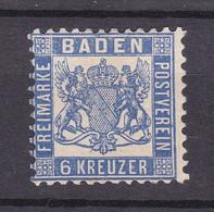 Baden - 1862/66 - Michel Nr. 19 - Ungebr. - Baden