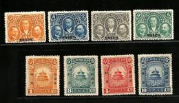 NO PAYPAL ** CHINA SINKIANG - Michel N° 23/30 - X - Xinjiang 1915-49