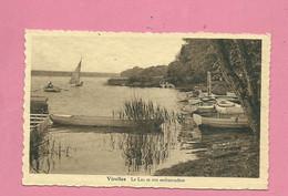 C.P. Virelles = LAC  Et  Son  Embarcadère - Chimay