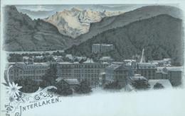 Zwitserland - Schweiz - Interlaken - Litho - 1900 - Unclassified