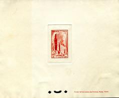 Epreuve De Luxe Cathédrâle De Albi Timbre N°667 Traces De Charnière - Prove Di Lusso