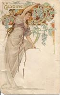 La Glycine  Illustrateur Art Déco  Chapellerie Favier 17 Place Notre Dame Du Mont 17 - Fiori